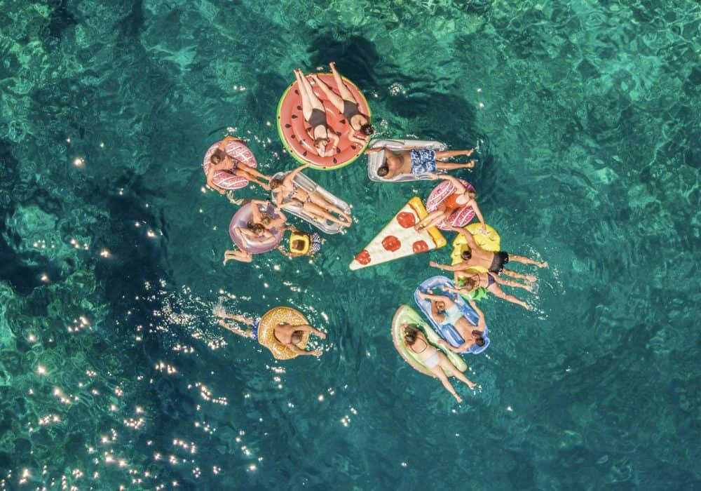 Picnic at Sea By Ryan Brown 1000x700 - Guide to Drone Photography
